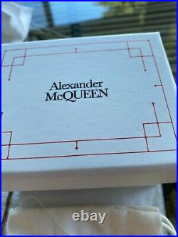 Alexander McQueen NWT Swarovski Crystal, Faux Pearl Snake Necklace ($725) withtax