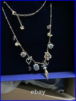New $229 Authentic Swarovski All Around Tarot Magic Necklace Yellow Gold Plated