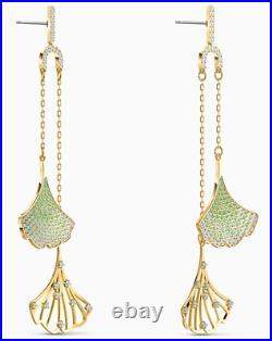 SWAROVSKI STUNNING GINKO MOBILE PIERCED EARRINGS 5527080! Brand New with Tag