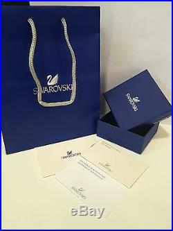 Swarovski 5351806 Iconic Swan Rose Gold Plated Y Necklace Length 38cm RRP $199