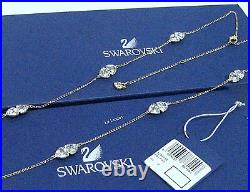 Swarovski Body Necklace, Gold-Plated Pendant Crystal Authentic MIB 5086154
